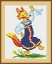 Канва 591-К с рисунком Лисичка