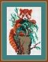 Канва 592-К с рисунком Рыжая панда