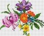 Канва 604-К с рисунком Букет с лилией