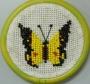 "016 Н ""Бабочка желт/черная"""