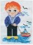 """072 Н """"Мальчик с корабликом"""""""