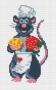Канва 522-К с рисунком поваренок Мик