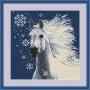 086  Снежная лошадка